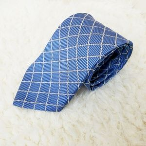 Brooks Brothers 346 Blue Rope Design Silk Tie